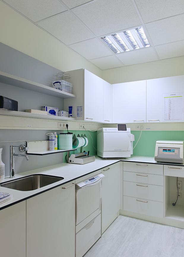 Sterilisationsraum Dr. Gath